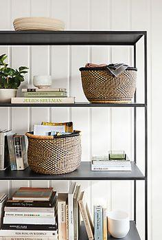 Unity Modern Hand-woven Baskets - Modern Organization - Modern Home Accessories - Room & Board