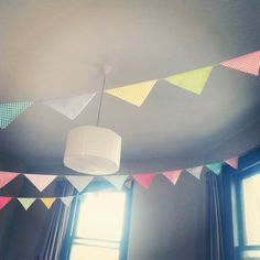 Gingham & Spotty Bunting Flags