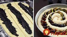 """Z prvej úrody sliviek vždy robím tento koláčik: Na točený """"slivkáč"""" s makom si pýta recept každý, kto ho ochutná! Something Sweet, Graham Crackers, Food And Drink, Cooking Recipes, Yummy Food, Sweets, Bread, Meals, Ethnic Recipes"""