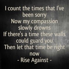 """Rise Against """"Ready To Fall"""""""