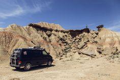 Bardenas #tourisme #campingcar Volkswagen, Vw T4, Van Vw, Camping Car, Image Categories, Van Camping, Spain, Travel, Basque