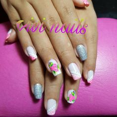 Imagen relacionada Permanent Makeup, Manicure And Pedicure, Makeup Yourself, Dots, Nail Art, Nails, Beauty, Color, Margarita