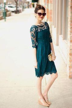 #Lace Dress  Casual Wear Dresses #2dayslook #CasualDresses  www.2dayslook.com