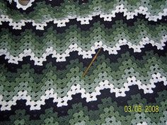 Granny Ripple afghan - free pattern                                                                                                                                                                                 More