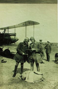 World War One German Aviator by San Diego Air & Space Museum Archives, via Flickr