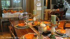 Fall Home Tour {Virtual} - Our Southern Home