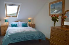 Immaculate modern annexe for Isle of Wight Holidays Holiday Accommodation, Isle Of Wight, Mead, Second Floor, Flooring, Traditional, Interior, Modern, Furniture