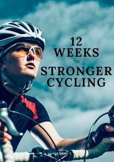 By increasing the pool of muscle fibers capable of contributing to the pedaling action, you increase the amount of rest opportunity for each so you can sustain a given speed longer before motor units begin to fatigue. 12 Weeks to Stronger Cycling Cycling Motivation, Cycling Quotes, Cycling Tips, Cycling Workout, Road Cycling, Bicycle Workout, Bike Workouts, Swimming Workouts, Swimming Tips