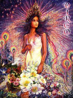 Josephine Wall - Virgo - Zodiac Collector Card - $2.95 : Josephine ...