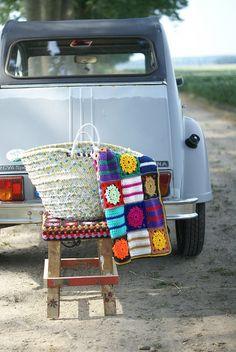 wood & wool picnic blanket by wood & wool stool, via Flickr