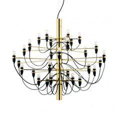 FLOS 2097 Modern Pendant Lamp designed by Gino Sarfatti Modern Pendant Lamps, Chandelier, Ceiling Lights, Chandelier Lighting, Pendant Lamp Design, Lights, Chandelier Design, Suspension Lamp, Pendant Lighting