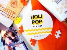 Holika Holika Holi Pop Blur Pact отзыв. Пудра-фотошоп. Blur, Holi, Holi Celebration