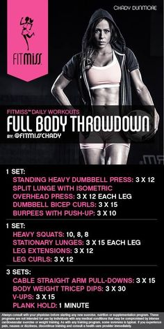 Full Body Throw Down