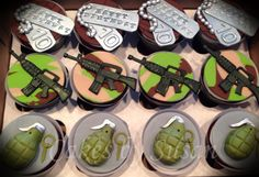 Call of Duty Cupcakes : Cakesdecor