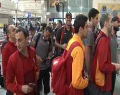 Galatasaray, ULEB Eurocup finalinin ilk maçı için Strasbourg'a gitti