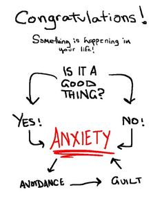 Response to everything: anxiety.
