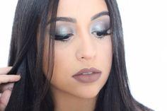 Amoreees olha essa makeee!!!! To morrendo de amores por ela! Fiz tutorial dessa make na minha linda amiga @giqueirozm e o video já está no meu canal no YouTube!! Make Glamourosa pra você arrasar! Vem ver! | link na bio | #make #makeupartist #beauty