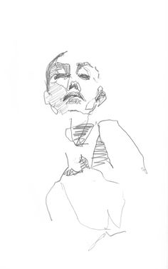 Felix Inclusis — leewoodman: Fast sketch #13. Pencil on paper. Lee...