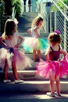 @Crystal Jimenez  do you think I could hire you to make three (maybe 4) tutu's for my wedding?  I want a pink one a purple one and a green one (and possible 4th with all three colors in it) for my flower girls?