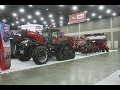 Case IH Exhibit at the 2015 National Farm Machinery Show Big Tractors, Case Ih, International Harvester, Exhibit, Farming, Monster Trucks, Photography, Photograph, Fotografie