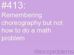 Can't math, can dance