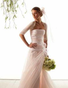 Vestito Le Spose di Giò 2015 con coprispalle