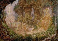 Johfra  Bosschart - De verzoening tussen Titiana en Oberon (May 25, 1994)
