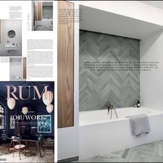 The February edition of @rum_id features this gorgeous bathroom with &SHUFL elm cabinet doors.⠀ ⠀ The bathroom belongs to &SHUFL founder and architect Kristoffer Brems, who has beautifully matched the wooden cabinet doors with exquisite green tiles from our friends at @fileunderpop .⠀ ⠀ #andshufl #bathroom #bad #badeværelse #andshuflontop #ikeainside #carpentry #danishdesign #madeindenmark #ikeahack #ikeahackers #ikea #shufl