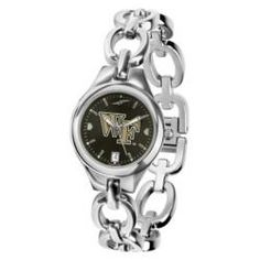 Wake Forest Demon Deacons Eclipse Ladies Watch - AnoChrome Dial