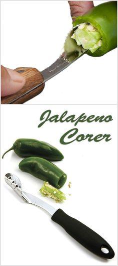 Jalapeno Corer // #Brilliant #kitchen #gadget