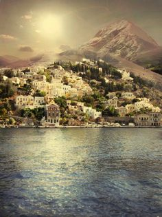 Lindo!!! Ilha Simi Grécia