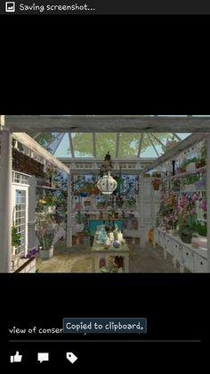 Inside of conservatory