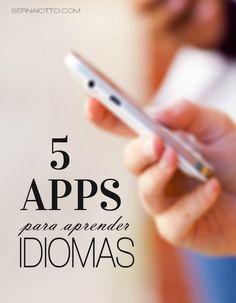 5 aplicativos para aprender idiomas English Tips, English Study, Learn English, Language Study, English Language, English Grammar, Study Apps, English Collocations, Apps For Teens