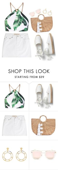 """""""Untitled #1310"""" by shannonmichellex ❤ liked on Polyvore featuring Jaded, Marc by Marc Jacobs, JADE TRIBE, Versace and Quay"""