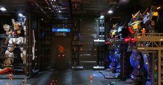 RG 1/144 Zeta Gundam Hangar Bay Modeled by pepe0189