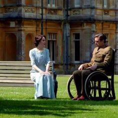Downton Abbey - Matthew and Mary