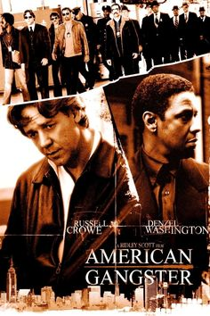 Cult Movies, Hd Movies, Love Movie, Movie Tv, Ridley Scott Movies, Frank Lucas, Gangster Movies, Native American Images, Cinema Posters