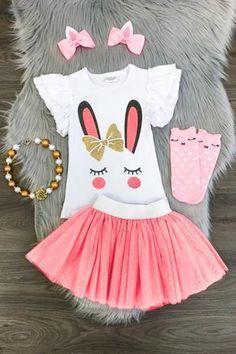 2 pc. Bunny Tutu Set