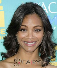 View yourself with Zoe Saldana hairstyles and hair colors. View styling steps and see which Zoe Saldana hairstyles suit you best. Best Human Hair Wigs, Cheap Human Hair Wigs, Celebrity Hairstyles, Black Women Hairstyles, Straight Hairstyles, Best Lace Wigs, Best Wigs, Black Bridesmaids Hairstyles, Bridesmaid Hair
