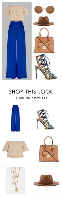 """Untitled #9"" by anetahavlikova on Polyvore featuring TIBI, Michael Kors, Forever 21 and Sunday Somewhere"