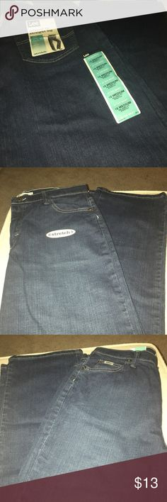 Lee relaxed fit size 10 women's . Never worn size 10 Lee relaxed fit straight leg pants. They are ready for someone who can fit them (lol). Lee Jeans Straight Leg