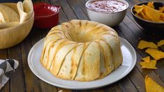 Taco Crunch Ring: the Soft Shell Taco meets the Crunchwrap Supreme - start with 10 tortillas and a bundt pan ~ recipe from scrumdiddlyumtious Meat Recipes, Mexican Food Recipes, Cooking Recipes, Party Recipes, Beef Dishes, Food Dishes, Main Dishes, Tortillas, Tortilla Casserole