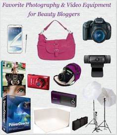 Best Camera and Photography Equipment, Gear, Accessories, for Beauty and Fashion Bloggers