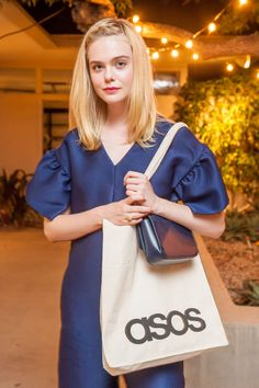 Elle Fanning attends the ASOS dinner and unveiling of the 2016 holiday collections at Simon House on September 27, 2016 in Beverly Hills, California.
