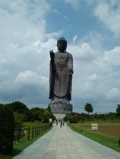 How about a giant Buddha that has a museum inside and with a view of Mount Fuji?