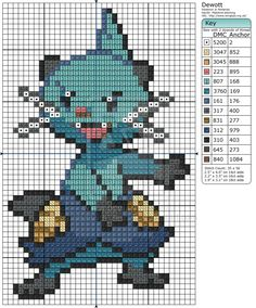 Pokemon - Dewott by Makibird-Stitching.deviantart.com on @deviantART