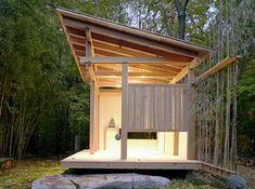 Japanese Tea House by Naomi Darling via Green Homes