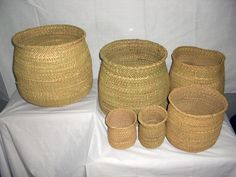 Iringa Natural Basket - KWANZA COLLECTION COMPANY LTD. Prices and Sizes:  XLarge: US$ 14.00 H:27-38cm x D:40-42cm  Large: US$11.00 H:22-25cm X D: 26-30cm  Medium:US$ 8.50 H:18-20cm x D:22-25cm  Small: US$ 5.90 H:14-17cm x D:15-20cm  XSmall: US$ 4.00 H: 10-13 cm X D: 12-14cm