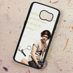 Crazy and Unpredictable Styles Quote Harry Styles - Samsung Galaxy S7 S6 S5 Note 7 Cases & Covers