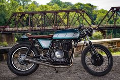 Yamaha XS400 by Real Moto Co..   If you're putting together a basic rock band it's not too hard to work out the pieces to the puzzle; at a minimum you need a singer with a sick set of pipes, an axe man to rock out and someone to swing the sticks on the skins. So if you're following the same minimalist formula what do you need to form a small custom workshop to create brilliant builds and...